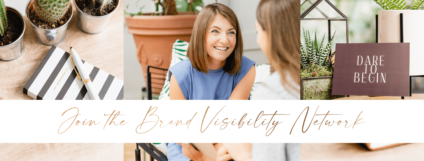join the brand visibility network Banner